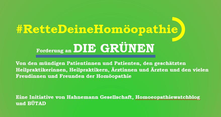 #RetteDeineHomöopathie | BDK2020 | Bündnis 90/DIE GRÜNEN